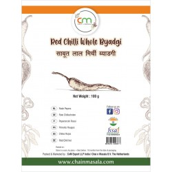 Dried red chillies- Whole Byadgi-100g