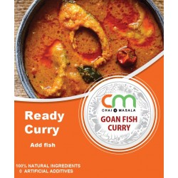 Goan fish curry- Ready gravy-  No added preservatives or color!
