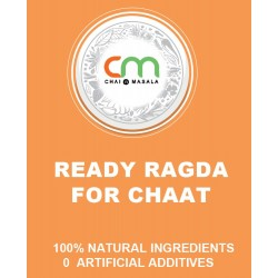 Ready ragda for Chaat- No added preservatives or color!