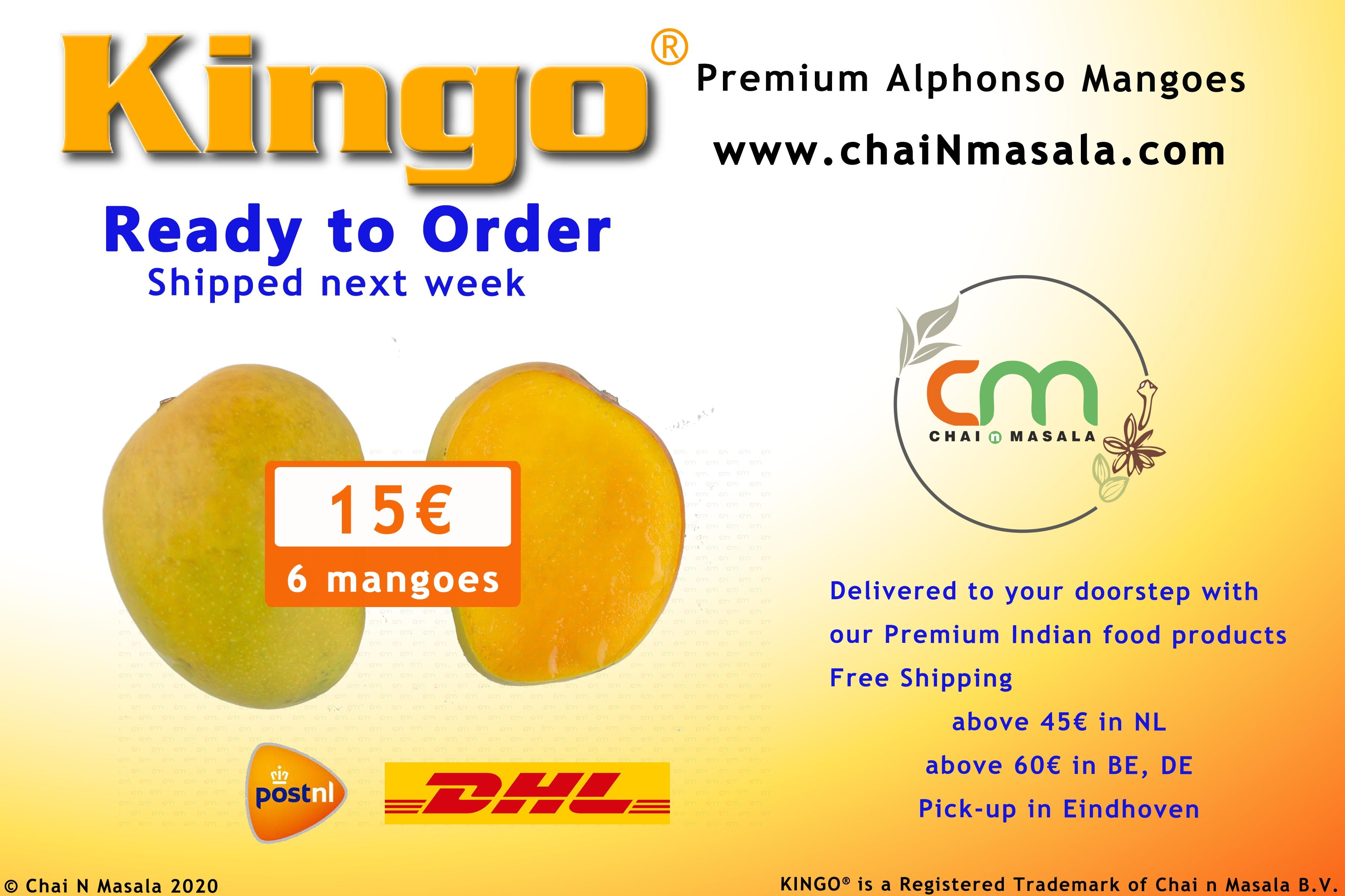 Pre-Order your Alphonso mangoes now !