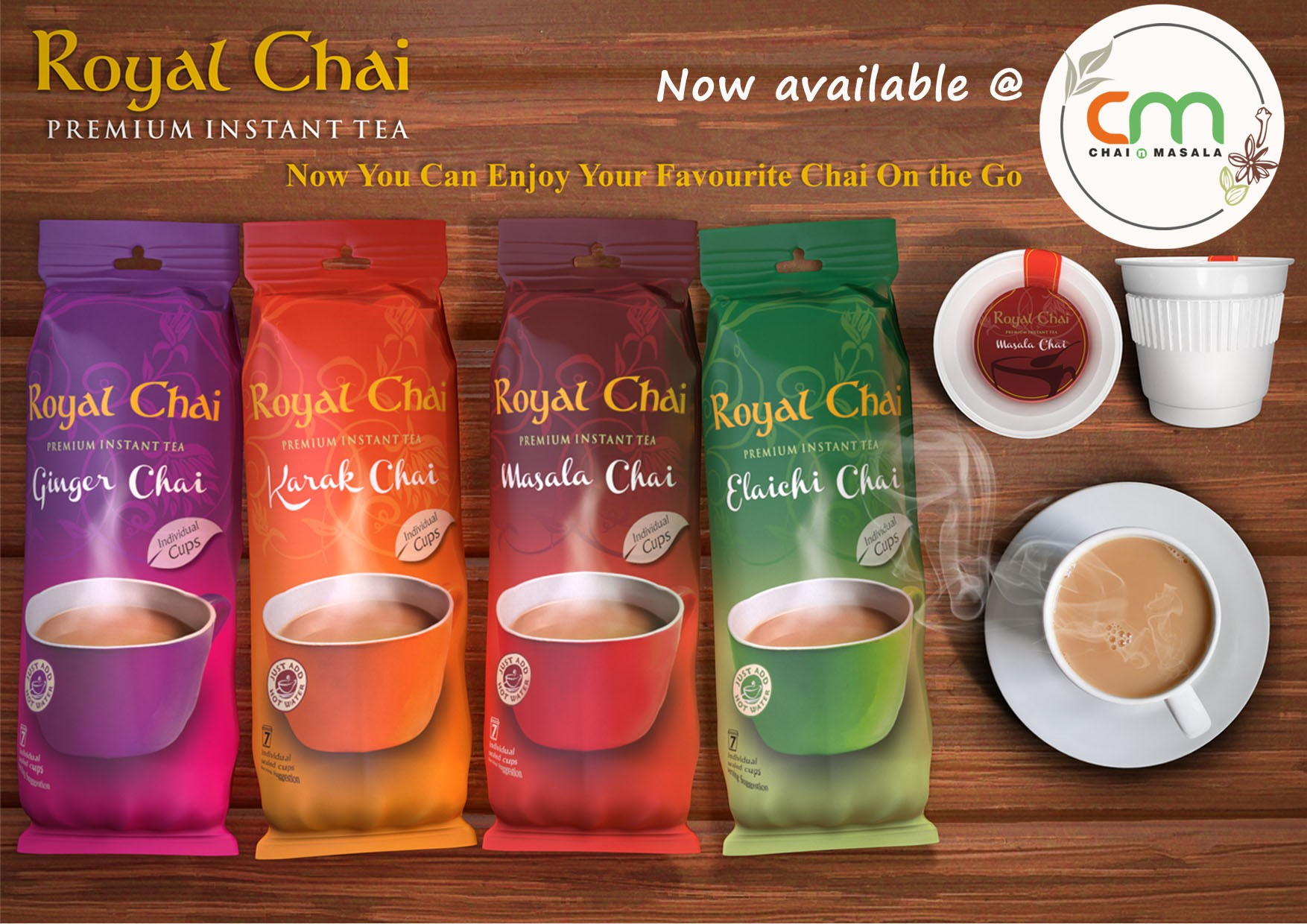 Royal Chai now available here!